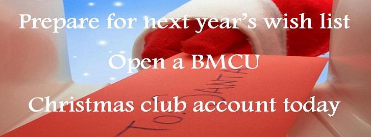 Xmas club banner